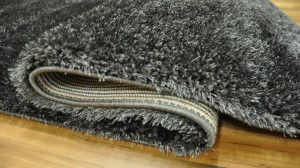 DYWAN SHAGGY PUFFY 80x150cm ANTHRACITE MIĘKKI