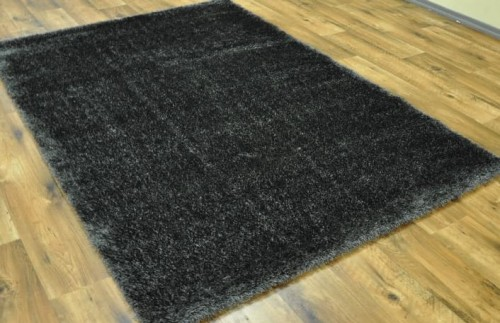 DYWAN SHAGGY PUFFY 80x150cm ANTHRACITE MIĘKKI  48772 mini