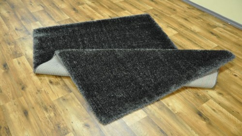 DYWAN SHAGGY PUFFY 80x150cm ANTHRACITE MIĘKKI  48780 mini