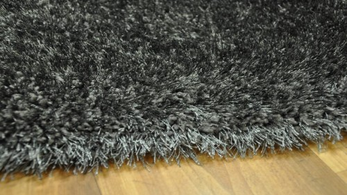 DYWAN SHAGGY PUFFY 80x150cm ANTHRACITE MIĘKKI  48782 mini