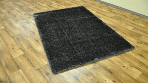 DYWAN SHAGGY PUFFY 80x150cm ANTHRACITE MIĘKKI  48779 mini