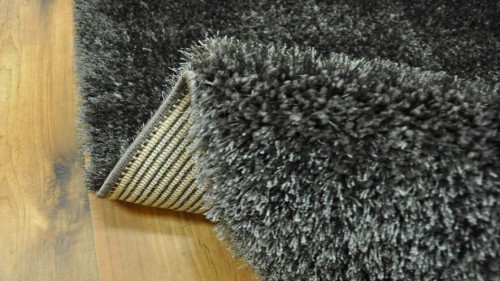 DYWAN SHAGGY PUFFY 80x150cm ANTHRACITE MIĘKKI  48774 mini