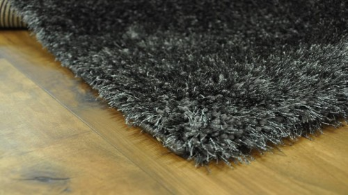 DYWAN SHAGGY PUFFY 80x150cm ANTHRACITE MIĘKKI  48781 mini
